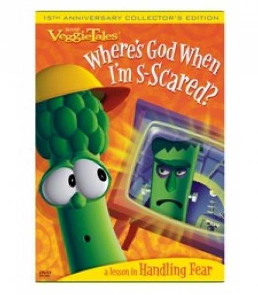 DVD-Veggie Tales: Where's God When I'm S-Scared?