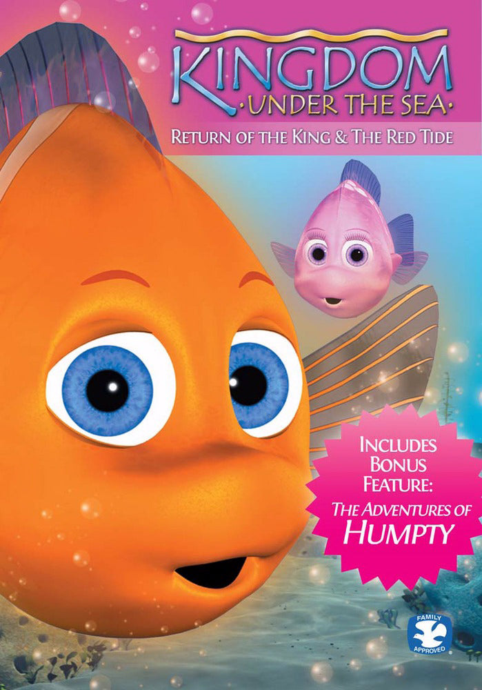 DVD-Kingdom Under The Sea Special Ed (2 Episodes)
