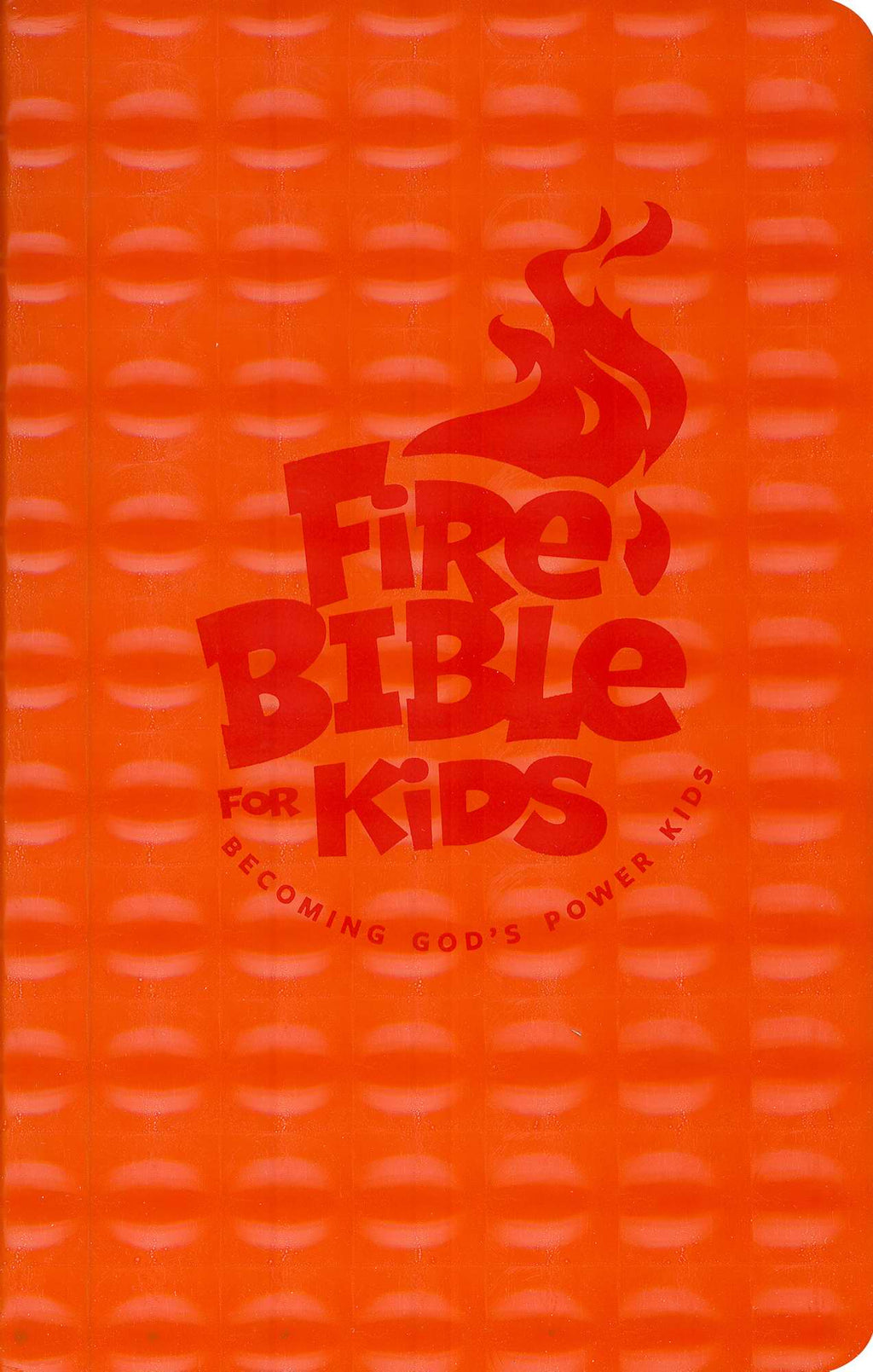 NKJV Fire Bible For Kids-Orange Flexisoft
