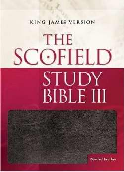 KJV Scofield Study Bible III-Black Bonded Leather Indexed (Super Saver)