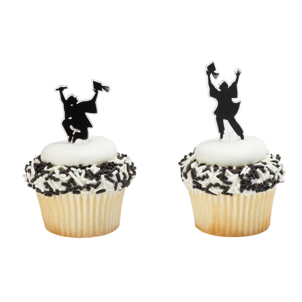 Achieve Your Dreams Graduation Cupcake and Cake Topper Decoration