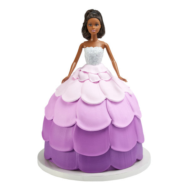 African American Barbie™ Cake Topper Deluxe Let's Party