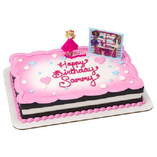 Barbie™ Love to Sparkle Cake Topper Decoration