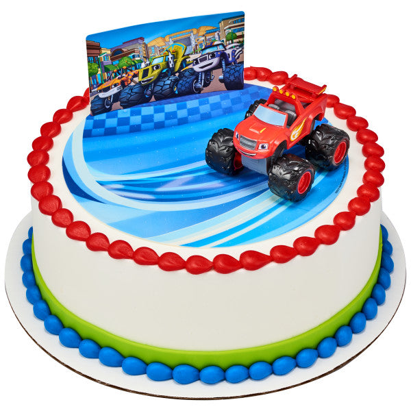 Blaze and the Monster Machines™ Cake Topper Decoration