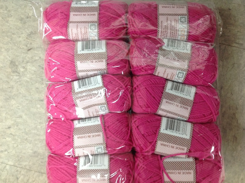 Sewing and Knitting Yarn in Solids and Stripes - CASE OF 100