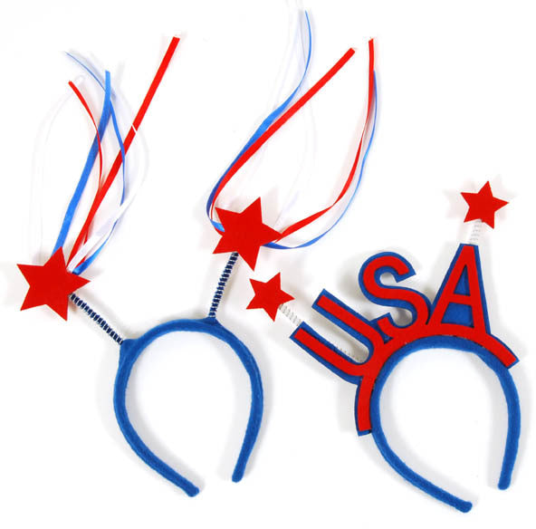 USA Pride Patriotic Headband - CASE OF 36