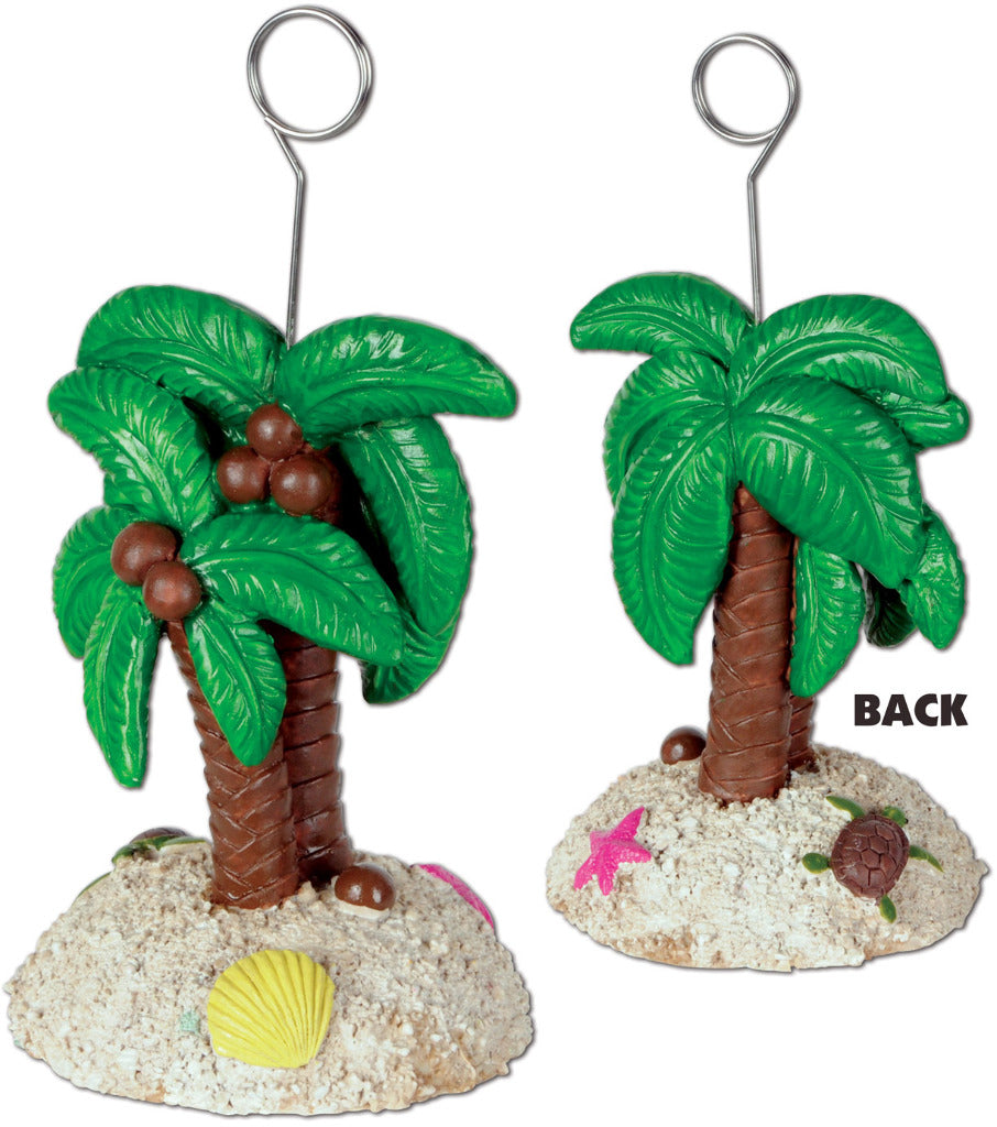 Palm Tree Photo-Balloon Holder - CASE OF 12