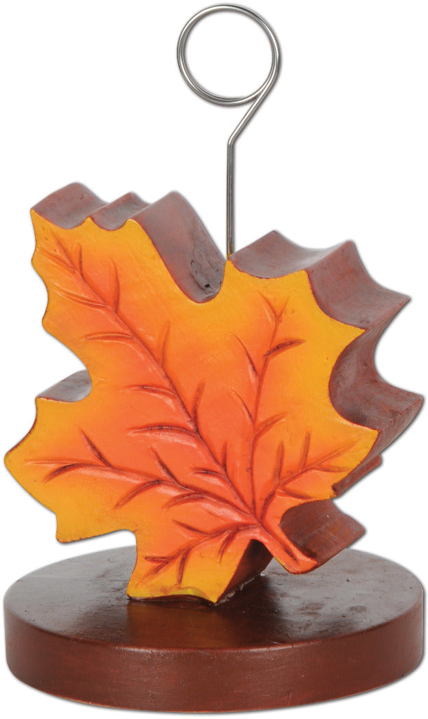 Fall Leaf Photo-Balloon Holder - CASE OF 12