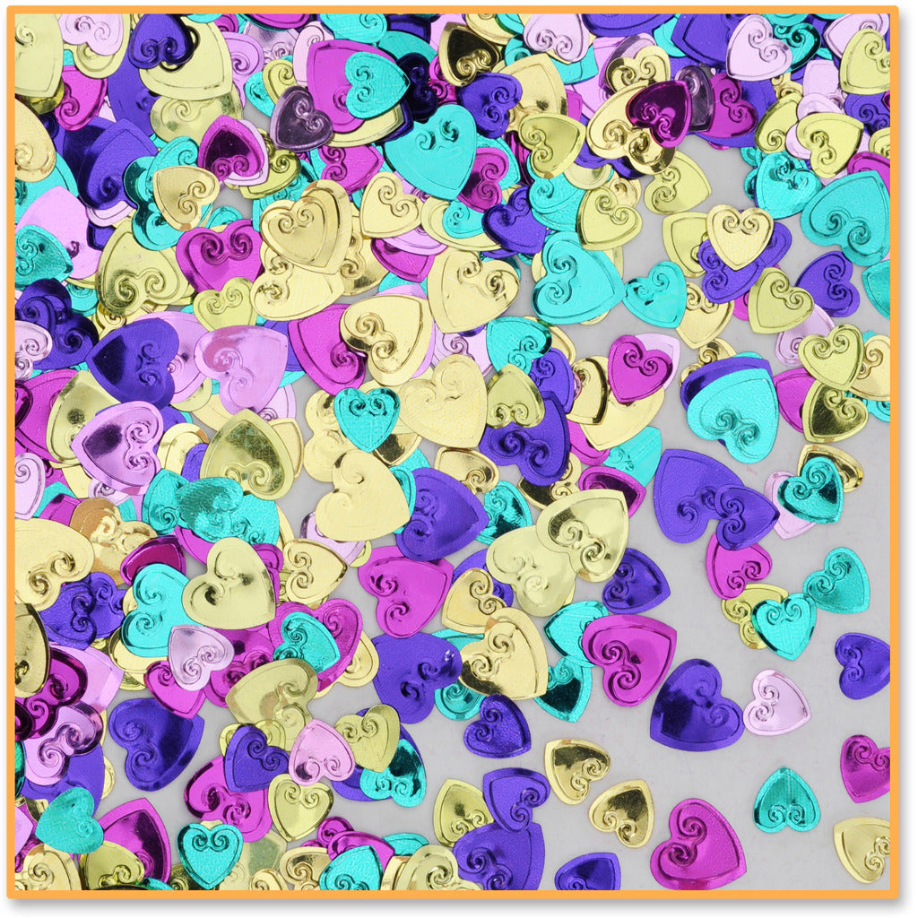 Lovely Hearts Confetti - CASE OF 24