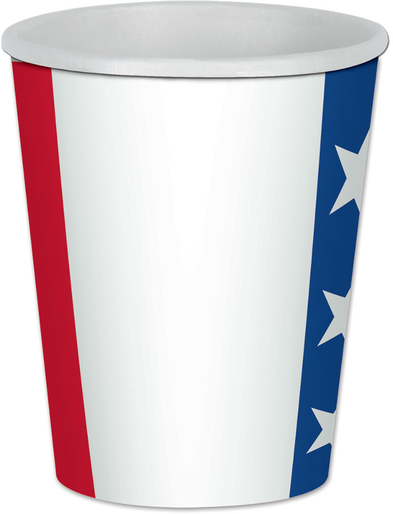Patriotic Beverage Cups - CASE OF 24
