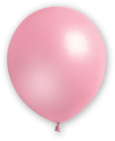 "12"" Fat Toad Pink Balloons - 72 count - CASE OF 4"