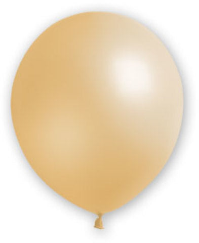 "12"" Fat Toad Ivory Balloons - 72 count - CASE OF 4"