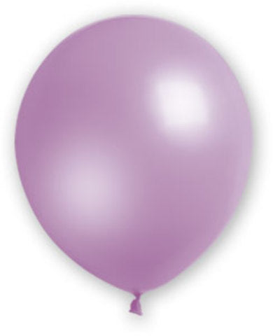 "12"" Fat Toad Lavender Balloons - 72 count - CASE OF 4"
