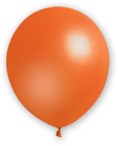 "12"" Orange Balloons - 72 Count - CASE OF 4"