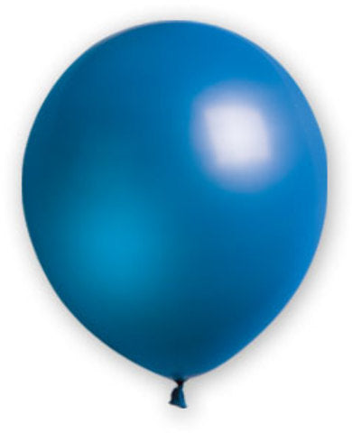 "12"" Royal Blue Balloons - 72 Count - CASE OF 4"
