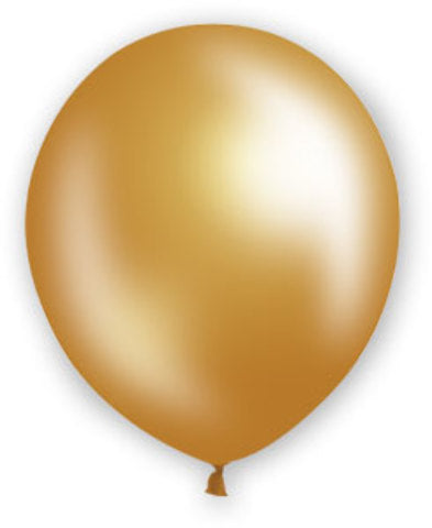 "12"" Pearl Gold Balloons - 72 Count - CASE OF 4"