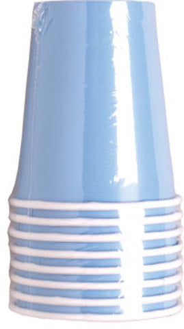 Light Blue 9 oz. Cup - 8 count - CASE OF 24
