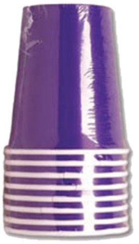 Purple 9 oz. Cup - 8 count - CASE OF 24