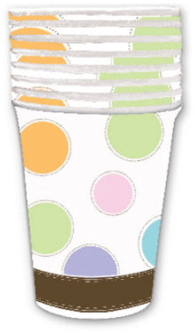 Baby Shower 9 oz. Cup - 8 count - CASE OF 24