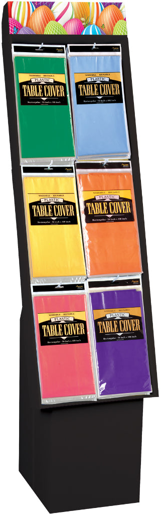 Table Cover Floor Display - 72 Ct. - CASE OF 72