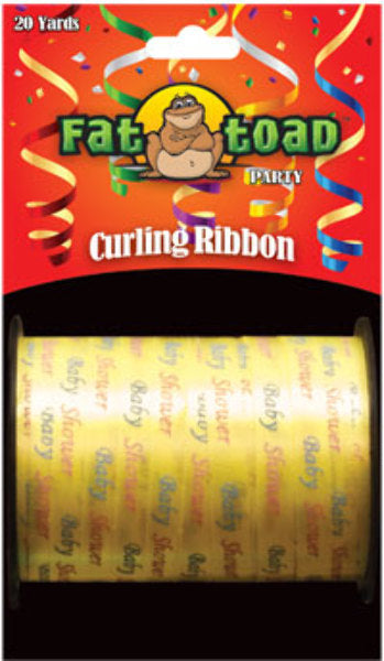 Fat Toad Curling Ribbon Baby Shower - 20 yards - CASE OF 24