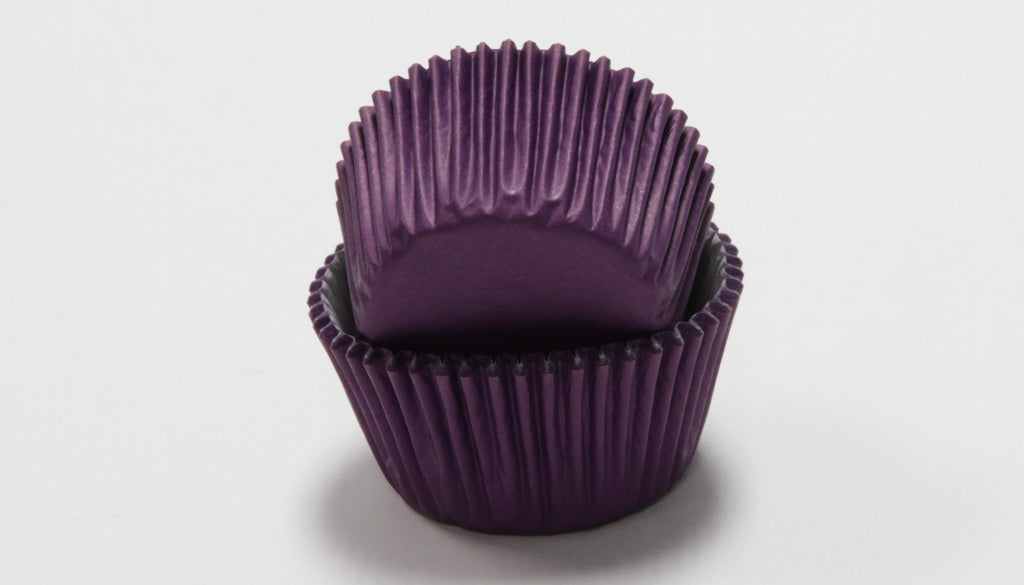 Purple Baking Cups - 50 Count - CASE OF 72