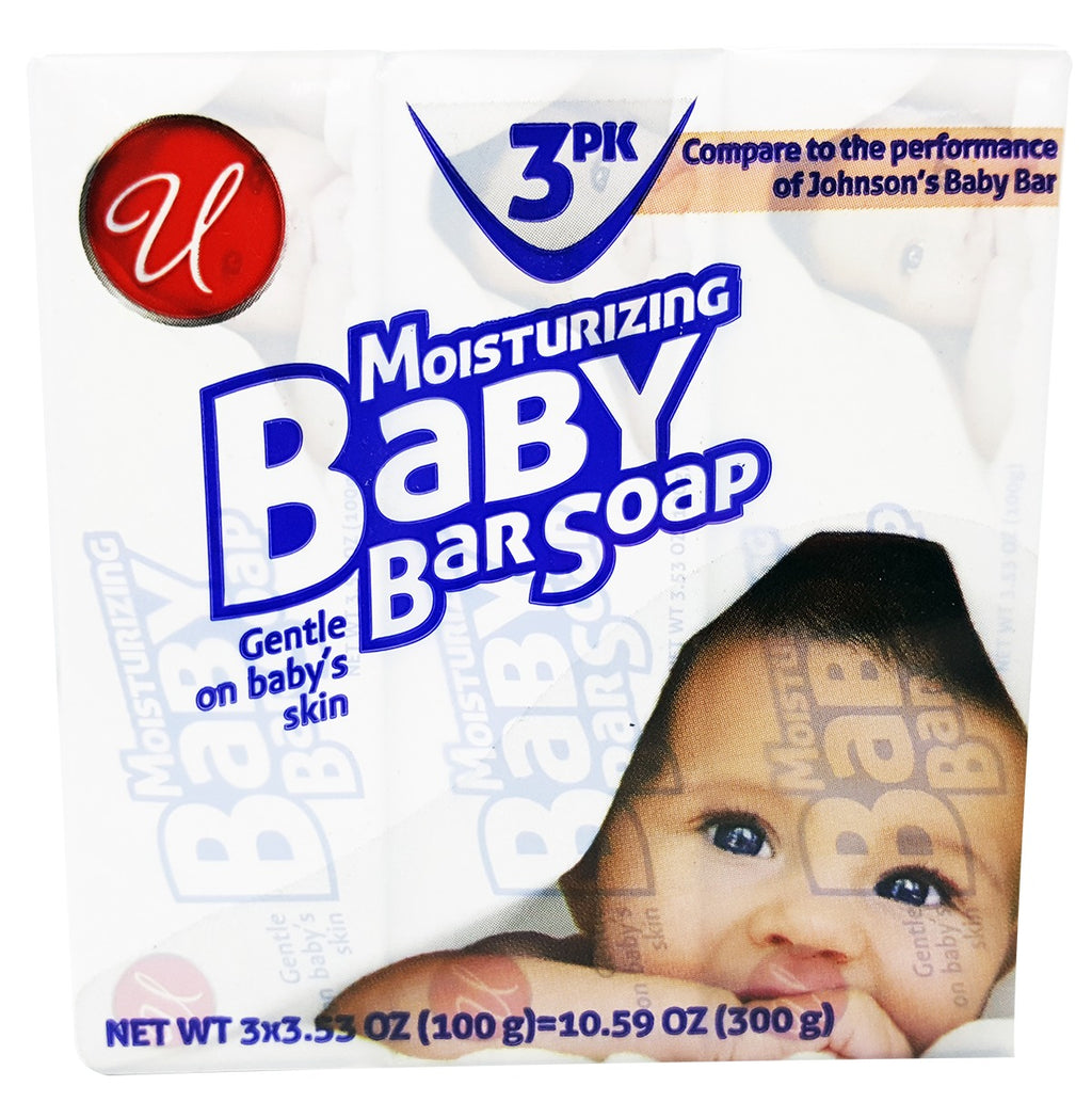 Moisturizing Baby Bar Soap - White - CASE OF 48