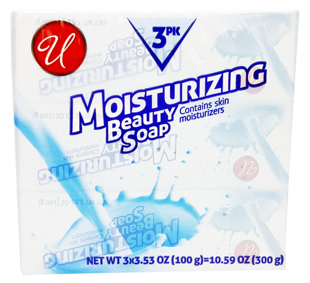 Moisturizing Beauty Soap - White - CASE OF 48