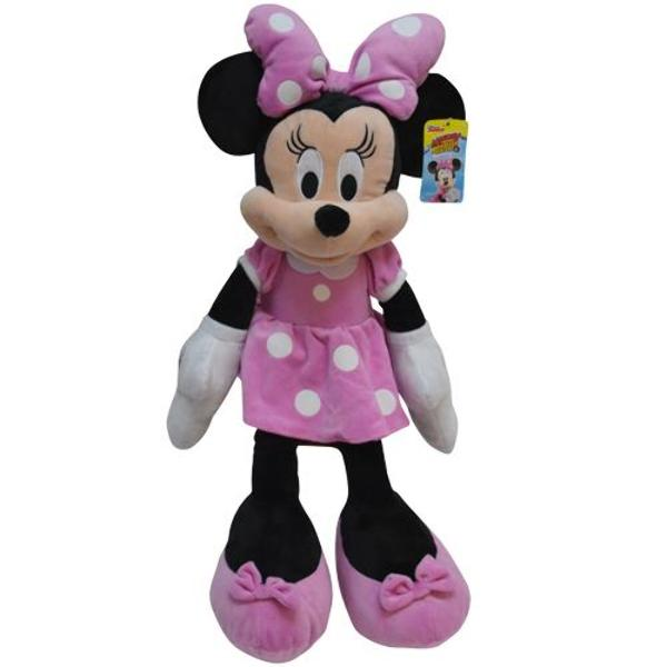 "25"" Minnie Mouse Plush Toy- Polka Dot Pink - CASE OF 12"