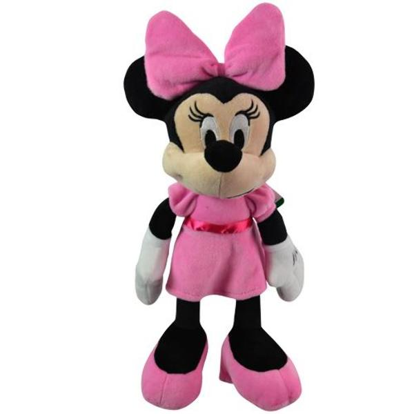 "15.5"" Minnie Mouse ""Pink Dress"" Plush Doll - CASE OF 32"