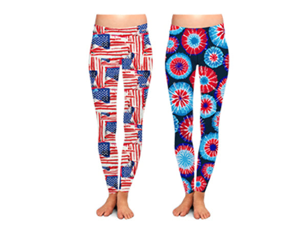 USA Leggings - CASE OF 24