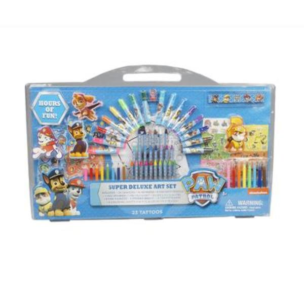 Paw Patrol Super Deluxe Art Set - CASE OF 6