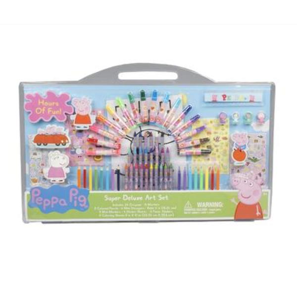 Peppa Pig Super Deluxe Art Set - CASE OF 6