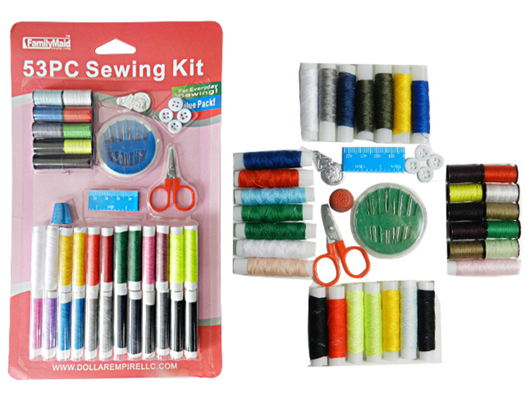 53 Piece Sewing Kit - CASE OF 24