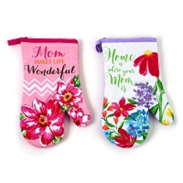 Mother's Day Printed Oven Mitt - CASE OF 48