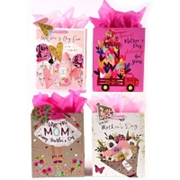 "All About Mom"" Hot Stamp Premium Mother's Day Gift - CASE OF 48"