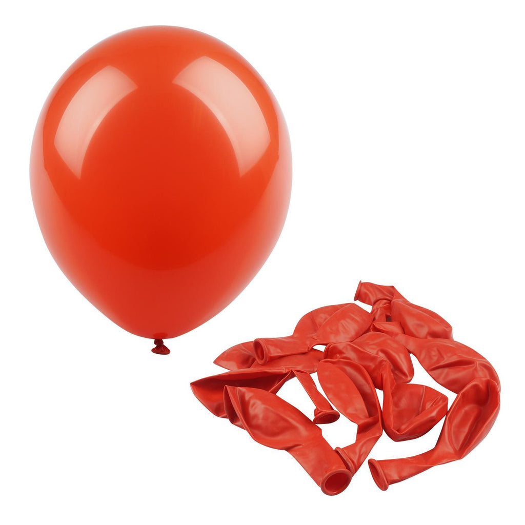 "Red 12"" Helium Balloon - 10 Count - CASE OF 48"