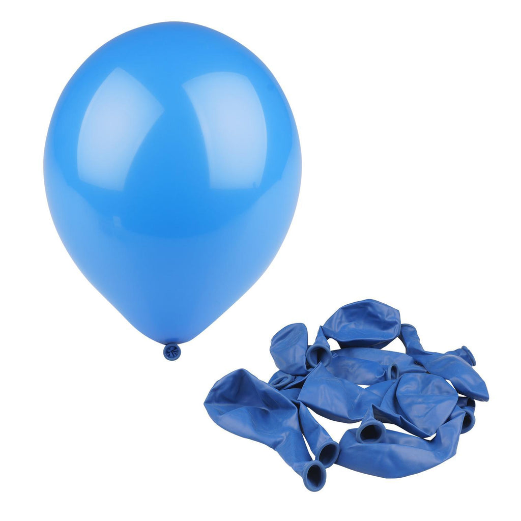 "Royal Blue 12"" Helium Balloon - 10 Count - CASE OF 48"