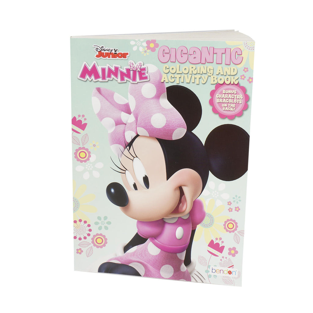 Disney Junior Minnie Mouse Gigantic Coloring & Activity Book - CASE OF 24