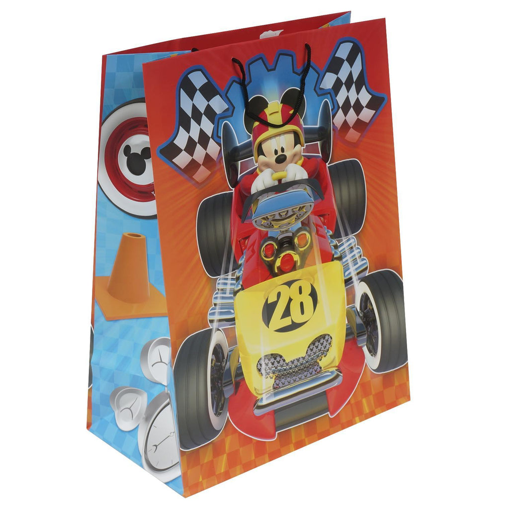 Mickey Mouse Racer Gift Bag - Mega - CASE OF 88