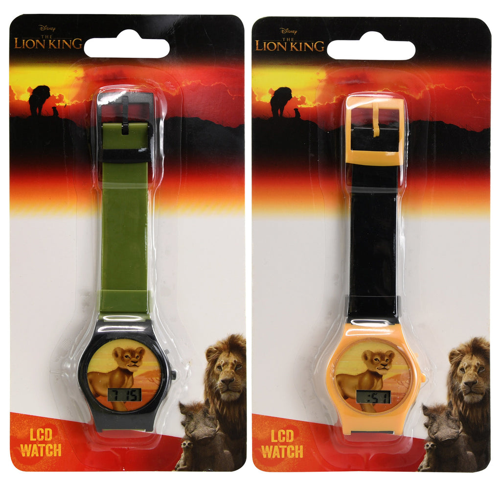 Lion King Digital Watch - Assorted - CASE OF 144