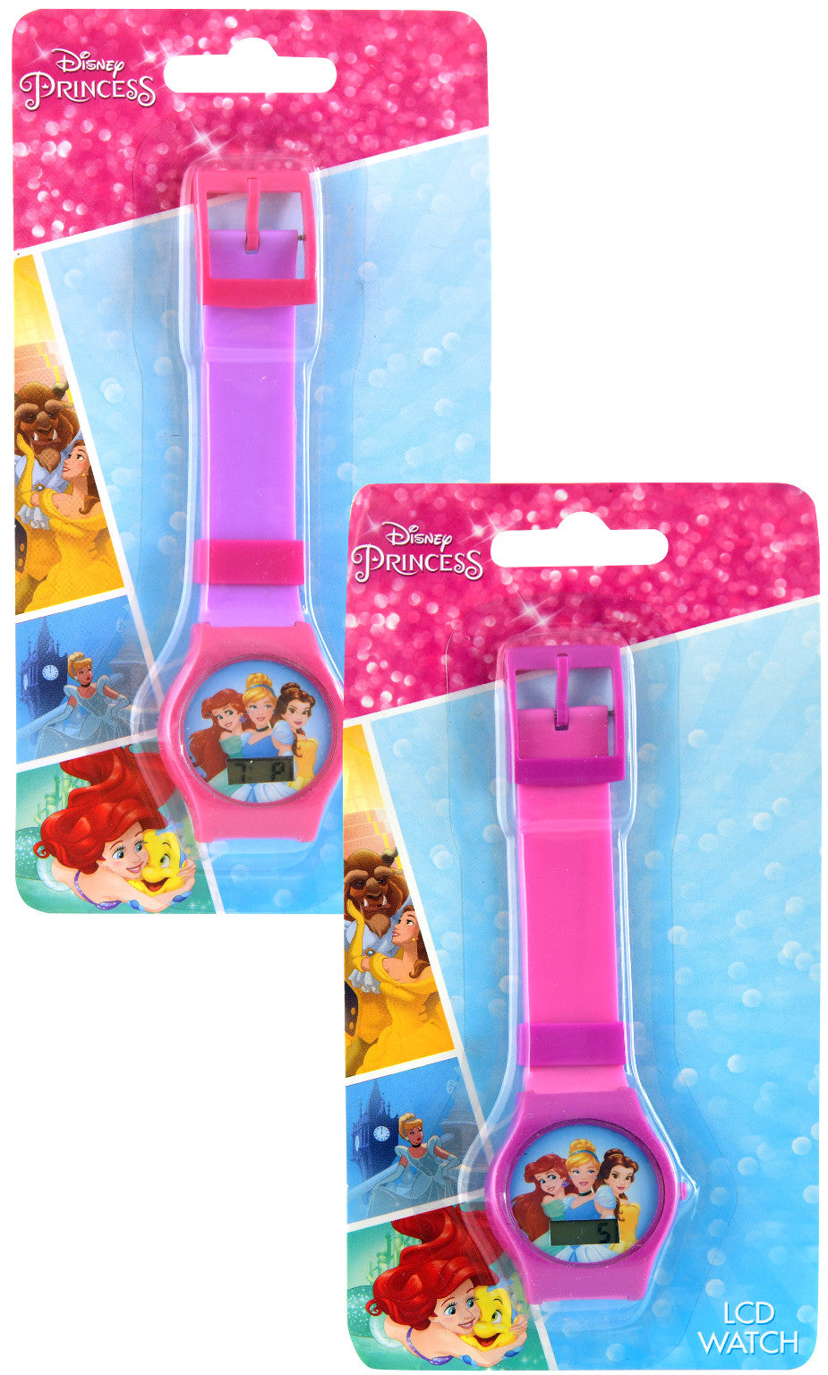 Princess Digital Watch - Assorted - CASE OF 144