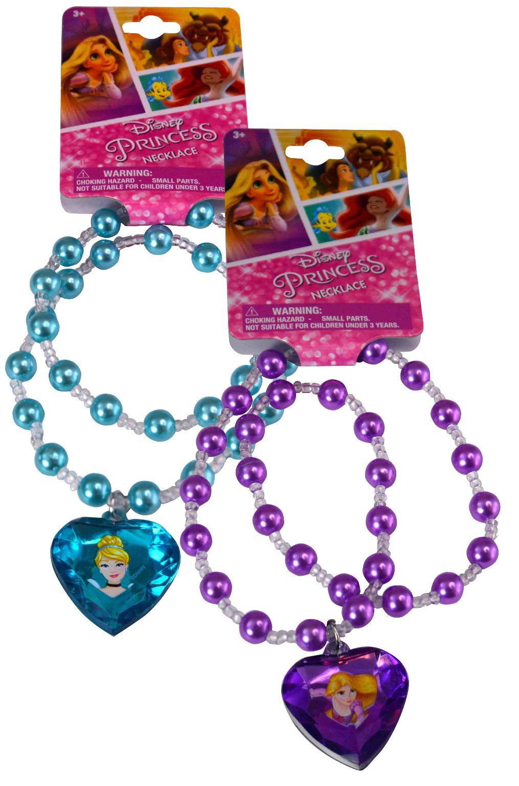 Princess Bowtique Pearl Necklace with 3D Gem - Assorted - CASE OF 288