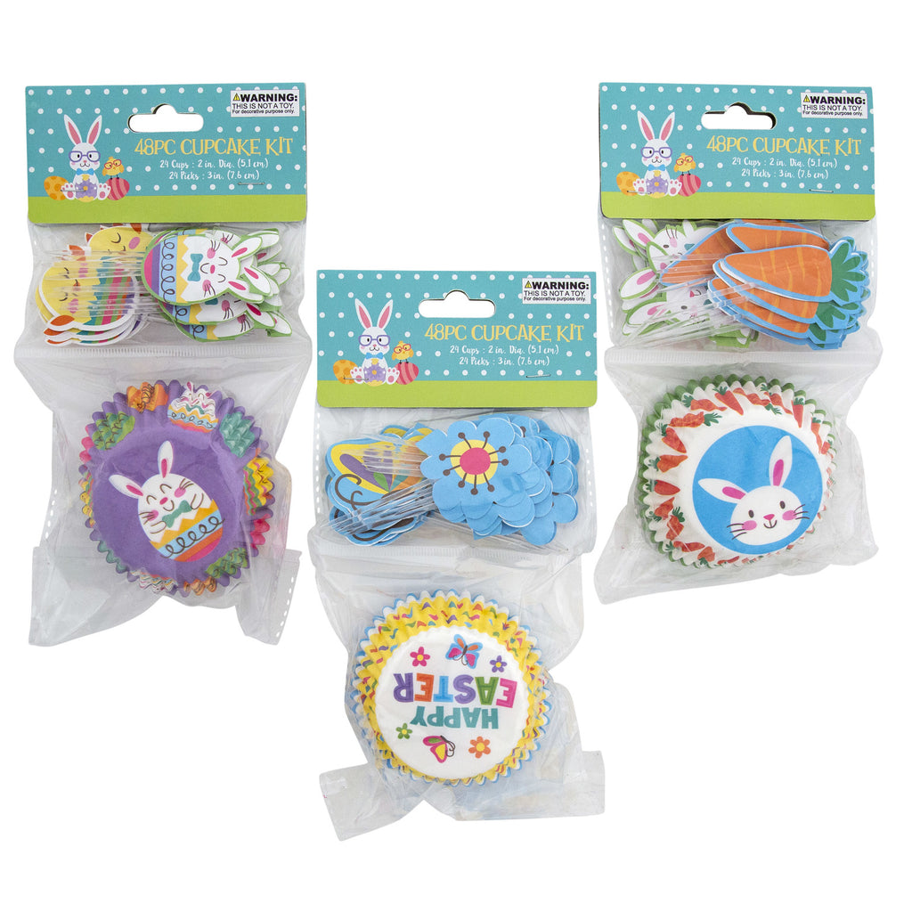 Easter Baking Cup Kit - CASE OF 48