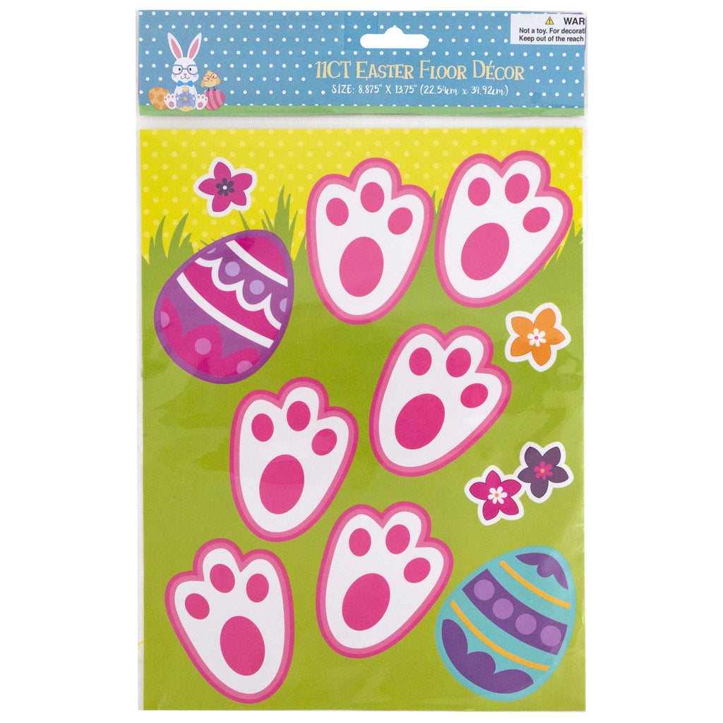 Easter Bunny Floor Tracks - CASE OF 48