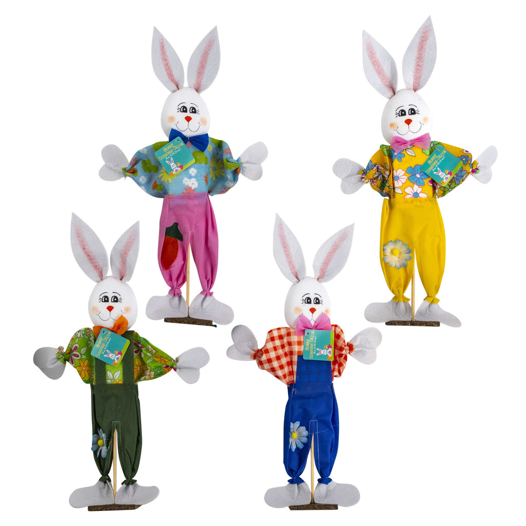 Easter Bunny Standing Decor - CASE OF 24