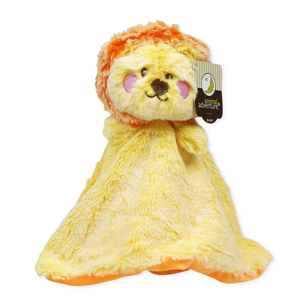 Lion Blankie Baby Toy - CASE OF 12