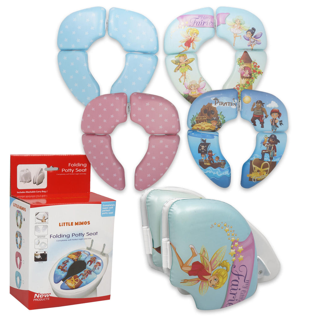Little Mimos Folding Potty Seat - Assorted - CASE OF 24