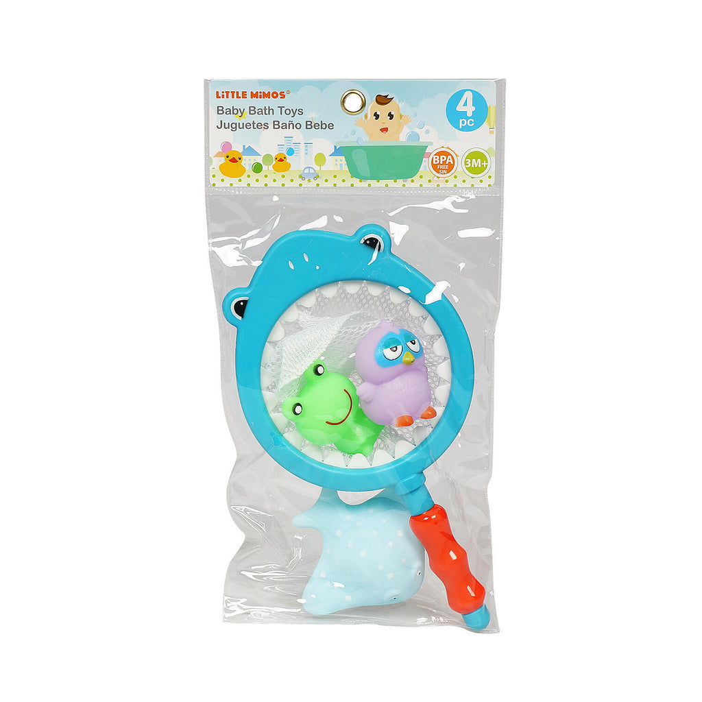 4 Piece Baby Bath Toy Sets - CASE OF 36