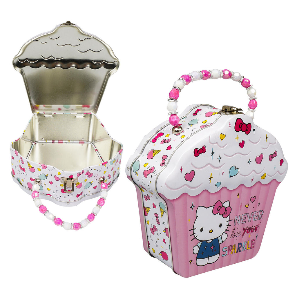 Hello Kitty Cupcake Purse with Beaded Handle - CASE OF 12
